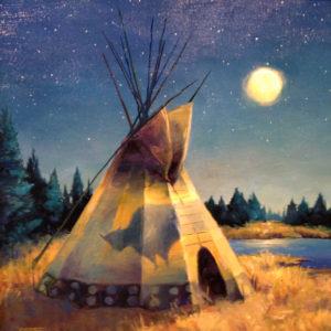 Blackfoot-Moon-20x20