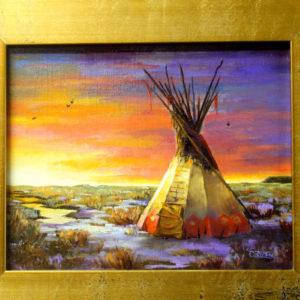 Eastern-Montana-Evening-8x10