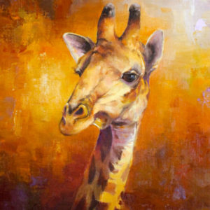 Giraffe-Study-14x11