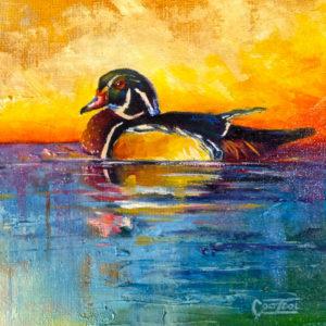 Wood-Duck-Study-6x6