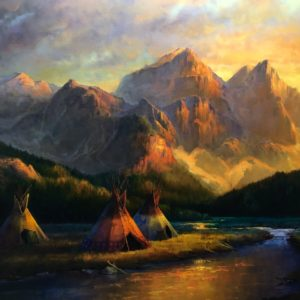 Evening-In-The-Rockies-40X50-Colt-Idol